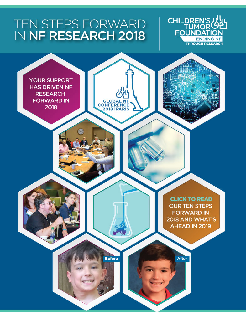 10 Steps Forward in NF Research 2018
