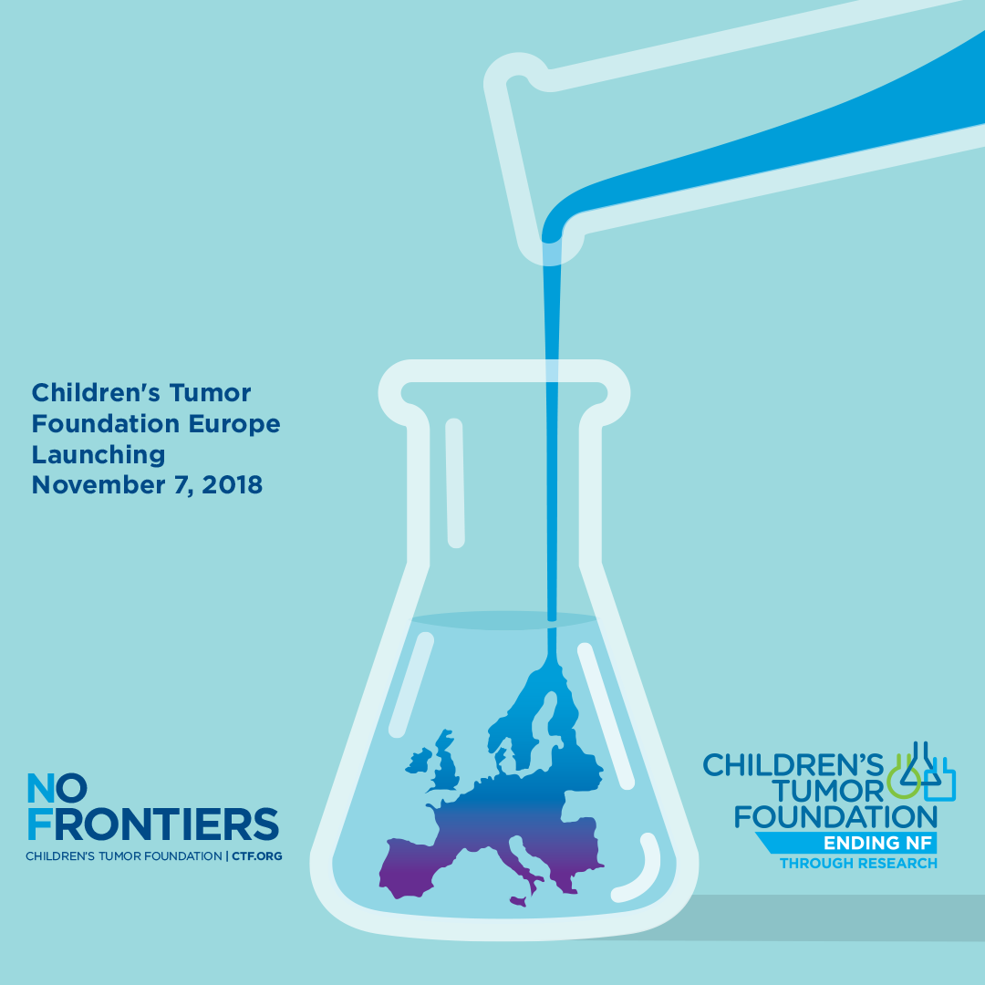 ANNOUNCING THE LAUNCH OF CHILDREN'S TUMOR FOUNDATION EUROPE